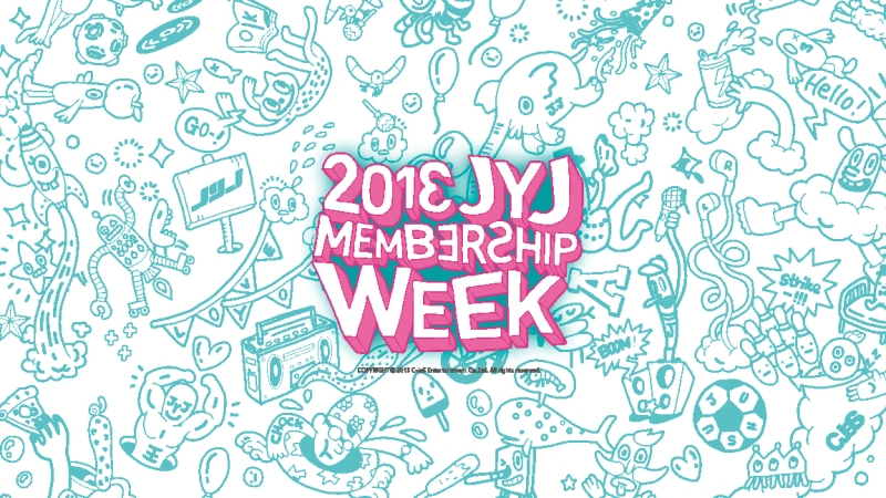 2013JYJ_membership week_로고