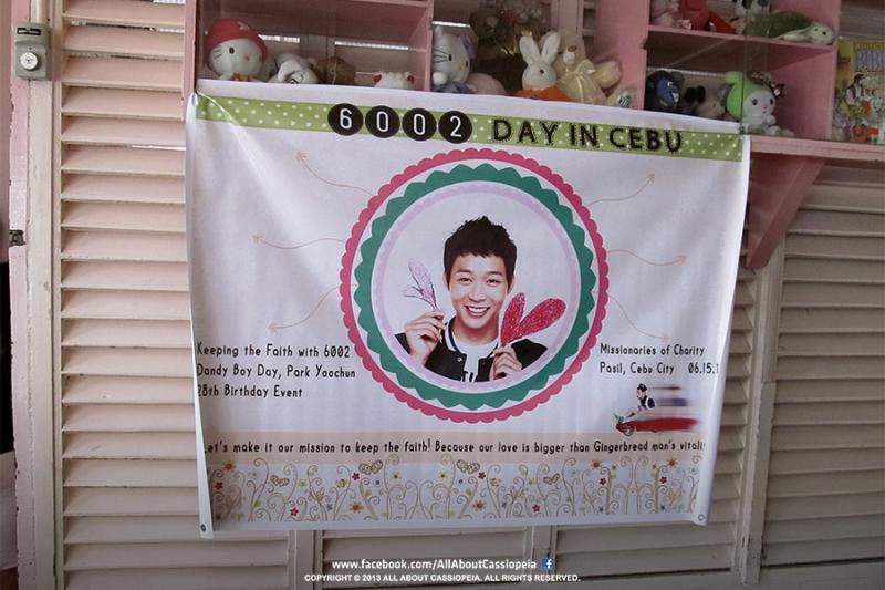 """The """"Yoochun"""" banner."""