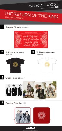 Bangkok concert goods. Photo: C-JeS Entertainment.