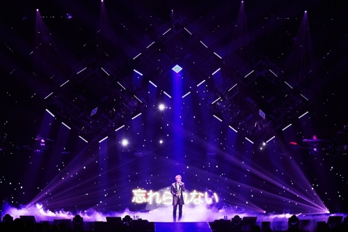 "Kim performing ""서랍(Drawer)"" in Yokohama. Photo: C-JeS Entertainment."
