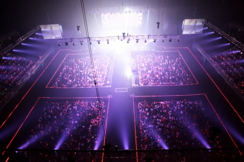 The concert stage in Bangkok. Photo: C-JeS Entertainment.