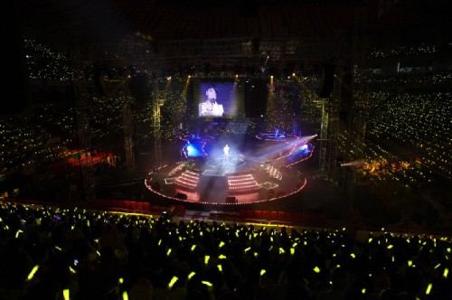 The centralized concert stage in Busan. Photo: C-JeS Entertainment.