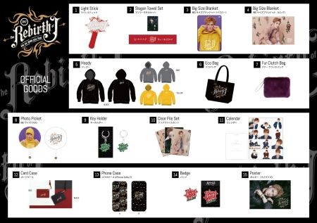 Yokohama concert goods. Photo: C-JeS Entertainment.